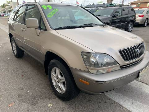 1999 Lexus RX 300 for sale at North County Auto in Oceanside CA