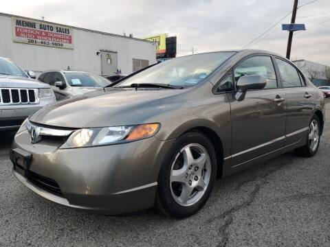 2006 Honda Civic for sale at MENNE AUTO SALES in Hasbrouck Heights NJ