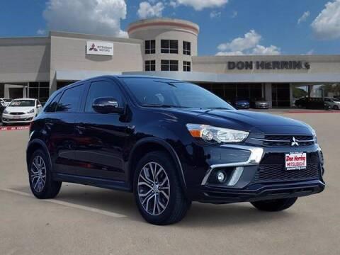 2018 Mitsubishi Outlander Sport for sale at Don Herring Mitsubishi in Plano TX