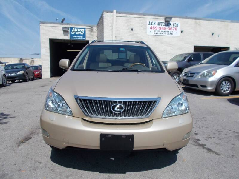 2009 Lexus RX 350 for sale at ACH AutoHaus in Dallas TX
