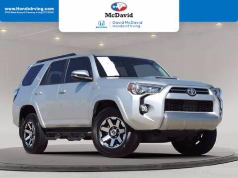 2020 Toyota 4Runner for sale at DAVID McDAVID HONDA OF IRVING in Irving TX