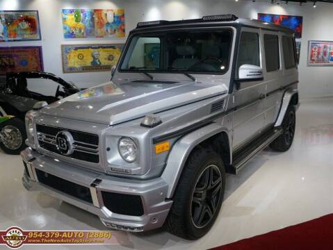 2004 Mercedes-Benz G-Class for sale at The New Auto Toy Store in Fort Lauderdale FL