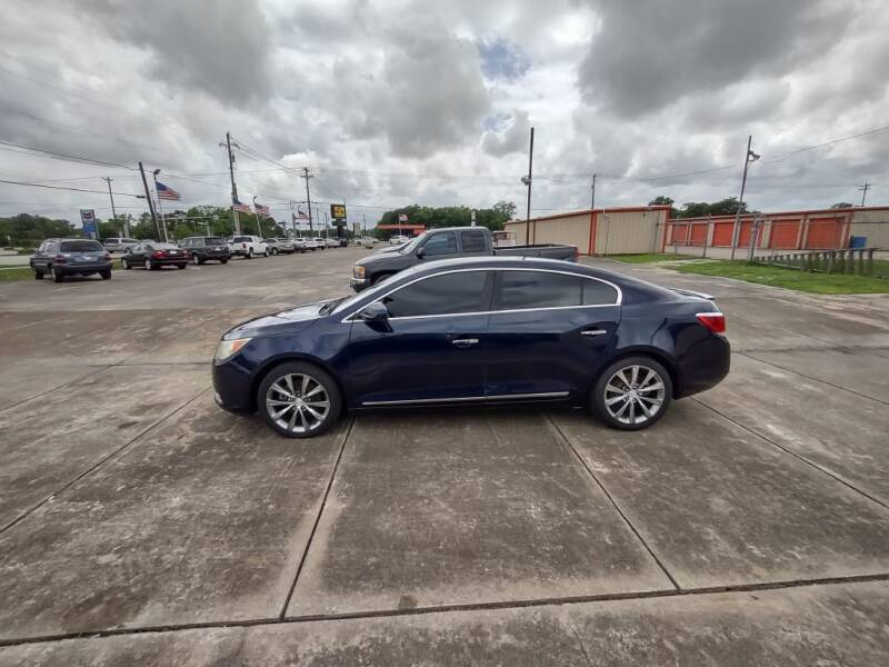 2011 Buick LaCrosse for sale at BIG 7 USED CARS INC in League City TX
