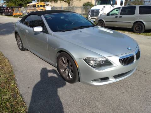 2009 BMW 6 Series for sale at LAND & SEA BROKERS INC in Deerfield FL