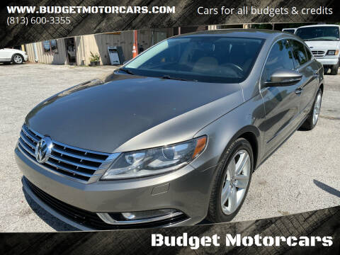 2014 Volkswagen CC for sale at Budget Motorcars in Tampa FL