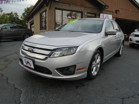2012 Ford Fusion for sale at IBARRA MOTORS INC in Cicero IL