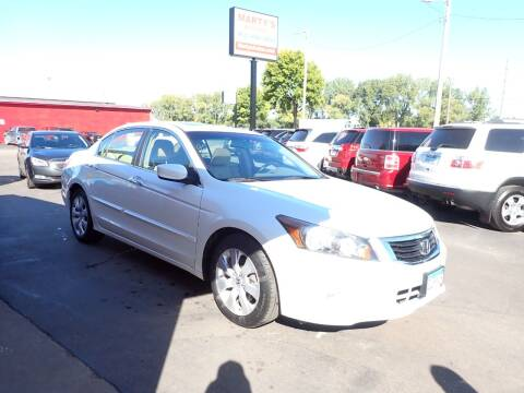 2008 Honda Accord for sale at Marty's Auto Sales in Savage MN