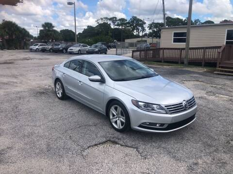 2013 Volkswagen CC for sale at Friendly Finance Auto Sales in Port Richey FL