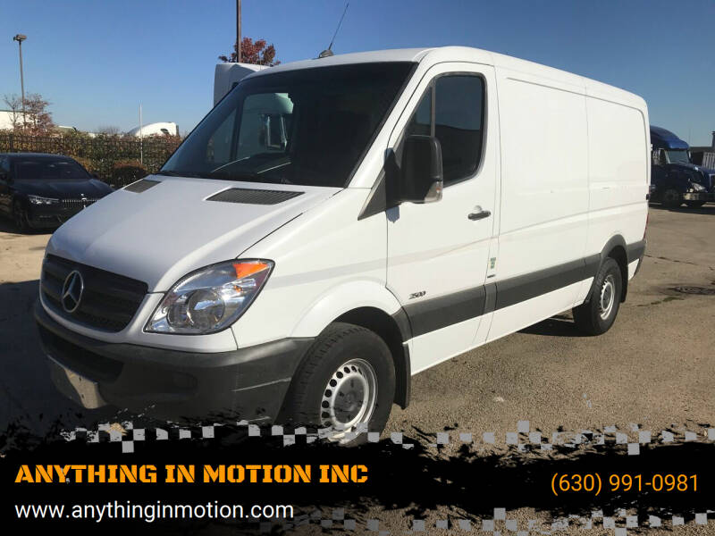 2012 Mercedes-Benz Sprinter Cargo for sale at ANYTHING IN MOTION INC in Bolingbrook IL