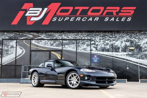 2001 Dodge Viper for sale at BJ Motors in Tomball TX