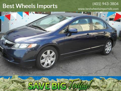 2009 Honda Civic for sale at Best Wheels Imports in Johnston RI