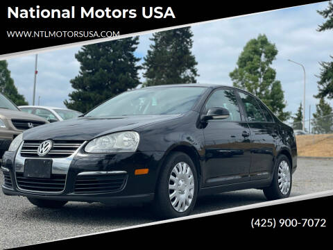 2010 Volkswagen Jetta for sale at National Motors USA in Federal Way WA