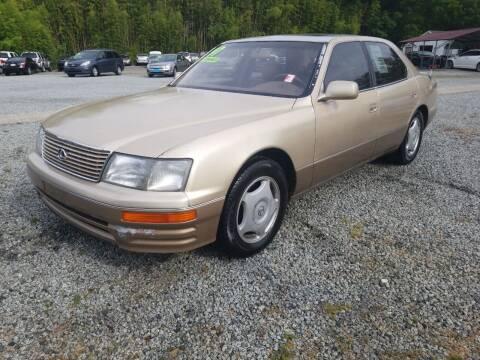1997 Lexus LS 400 for sale at TR MOTORS in Gastonia NC