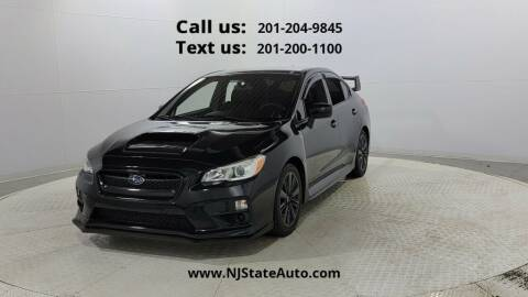 2017 Subaru WRX for sale at NJ State Auto Used Cars in Jersey City NJ