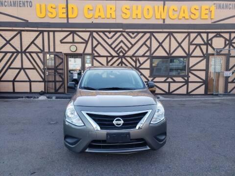 2015 Nissan Versa for sale at Used Car Showcase in Phoenix AZ