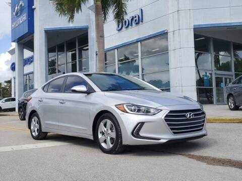 2017 Hyundai Elantra for sale at DORAL HYUNDAI in Doral FL