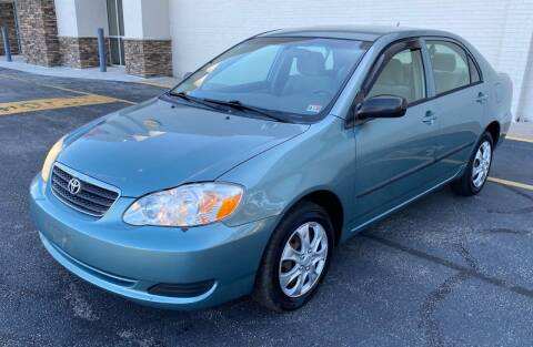 2006 Toyota Corolla for sale at Carland Auto Sales INC. in Portsmouth VA