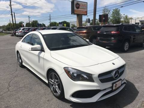 2018 Mercedes-Benz CLA for sale at Cars 4 Grab in Winchester VA