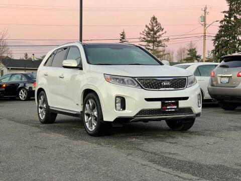 2014 Kia Sorento for sale at LKL Motors in Puyallup WA