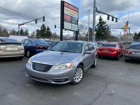 2013 Chrysler 200 for sale at Tacoma Autos LLC in Tacoma WA