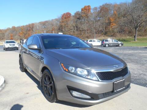 2012 Kia Optima for sale at Maczuk Automotive Group in Hermann MO
