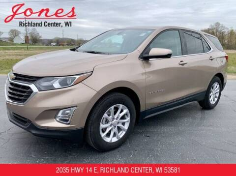 2018 Chevrolet Equinox for sale at Jones Chevrolet Buick Cadillac in Richland Center WI