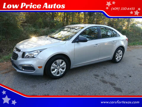 2016 Chevrolet Cruze Limited for sale at Low Price Autos in Beaumont TX