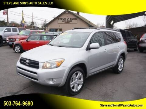 2007 Toyota RAV4 for sale at Steve & Sons Auto Sales in Happy Valley OR