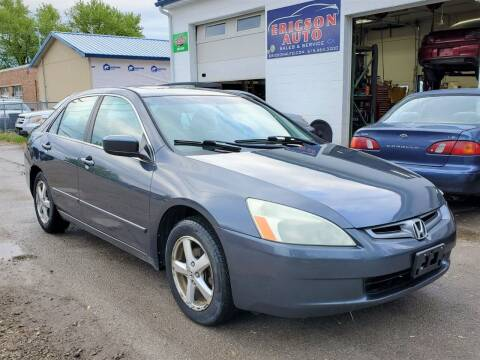 2004 Honda Accord for sale at Ericson Auto in Ankeny IA