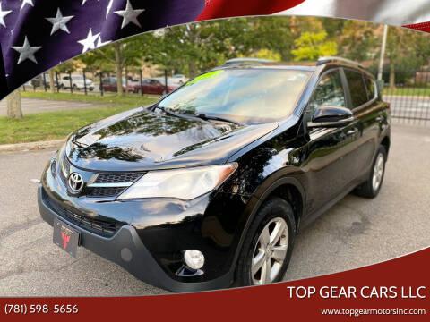 2013 Toyota RAV4 for sale at Top Gear Cars LLC in Lynn MA