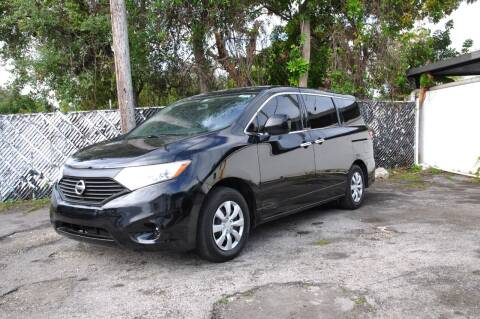 2013 Nissan Quest for sale at INTERNATIONAL AUTO BROKERS INC in Hollywood FL