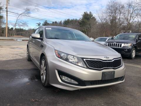 2012 Kia Optima for sale at Royal Crest Motors in Haverhill MA