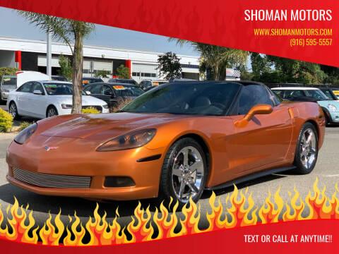 2007 Chevrolet Corvette for sale at SHOMAN MOTORS in Davis CA