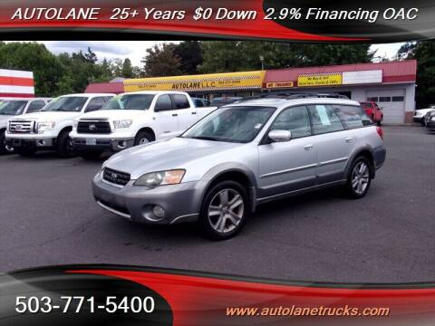 2005 Subaru Outback for sale at Auto Lane in Portland OR