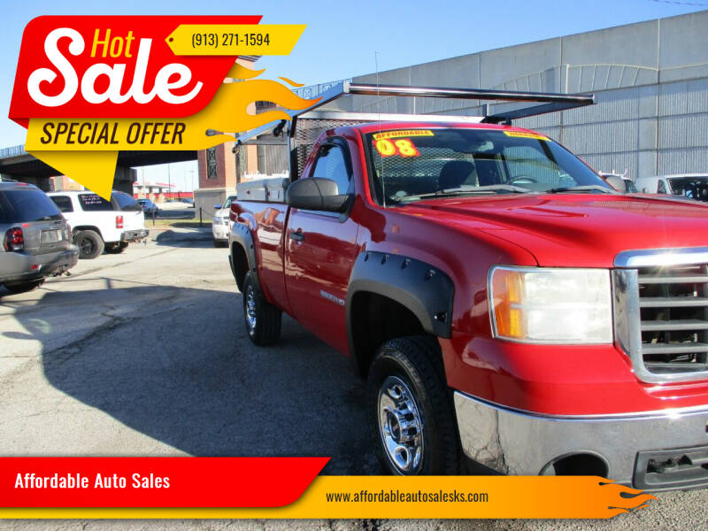 2008 GMC Sierra 2500HD for sale at Affordable Auto Sales in Olathe KS