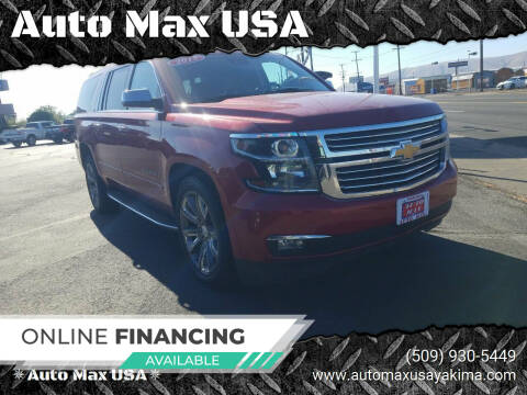 2015 Chevrolet Suburban for sale at Auto Max USA in Yakima WA