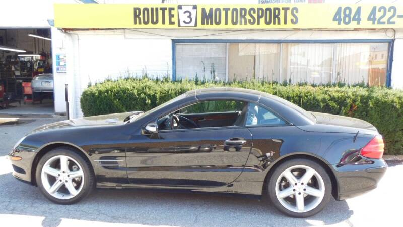 2004 Mercedes-Benz SL-Class for sale at Route 3 Motors in Broomall PA