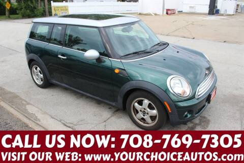 2009 MINI Cooper Clubman for sale at Your Choice Autos in Posen IL