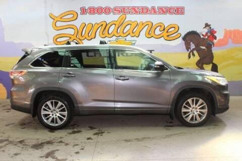 2015 Toyota Highlander for sale at Sundance Chevrolet in Grand Ledge MI