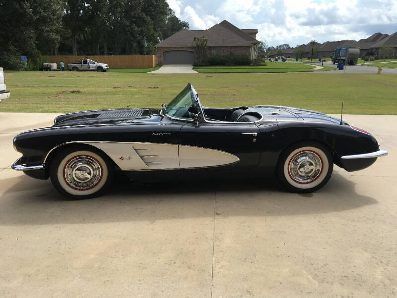 1958 Chevrolet Corvette for sale at Bayou Classics and Customs in Parks LA