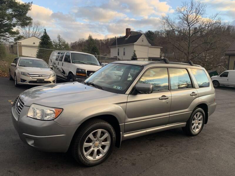 2007 Subaru Forester for sale at Premiere Auto Sales in Washington PA