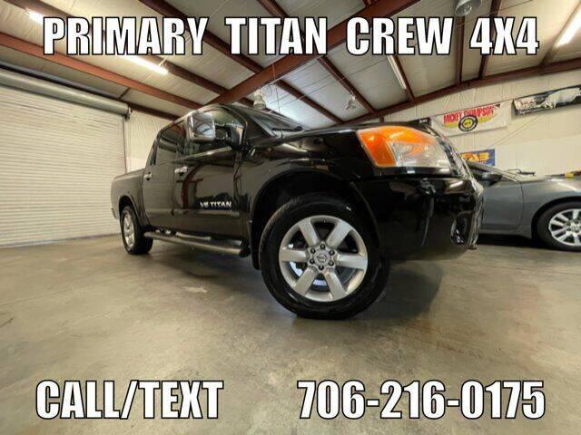 2010 Nissan Titan for sale at Primary Auto Group in Dawsonville GA