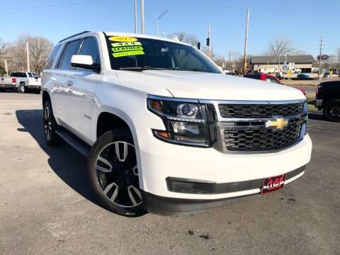 2017 Chevrolet Tahoe for sale at A & S Auto and Truck Sales in Platte City MO