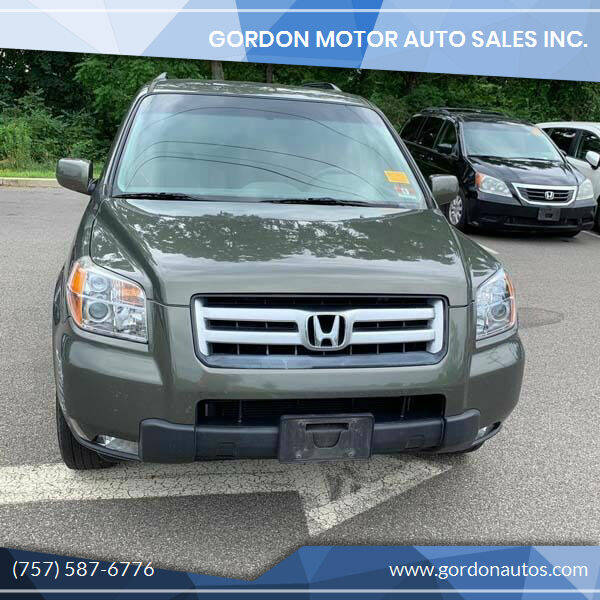 2006 Honda Pilot for sale at Gordon Motor Auto Sales Inc. in Norfolk VA