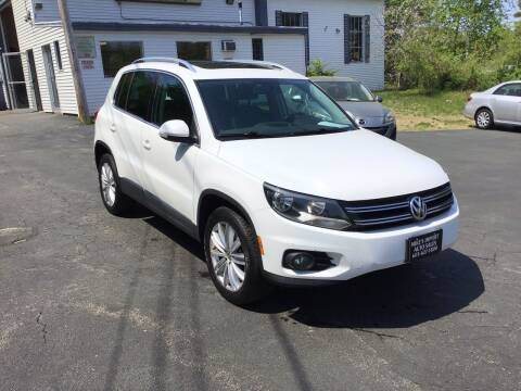 2012 Volkswagen Tiguan for sale at Mikes Import Auto Sales INC in Hooksett NH