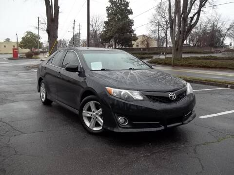 2012 Toyota Camry for sale at CORTEZ AUTO SALES INC in Marietta GA