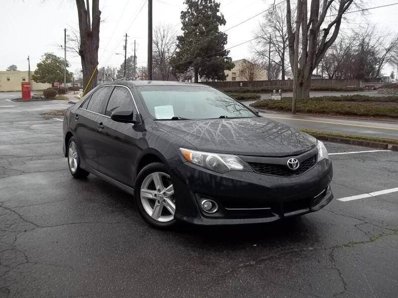 2012 Toyota Camry for sale at CORTEZ AUTO SALES INC in Marietta GA