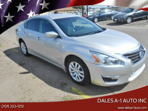 2015 Nissan Altima for sale at Dales A-1 Auto Inc in Jamestown ND