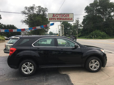 2013 Chevrolet Equinox for sale at Action Auto Wholesale in Painesville OH