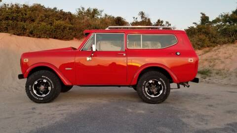 1980 International Harvester Scout II for sale at McQueen Classics in Lewes DE